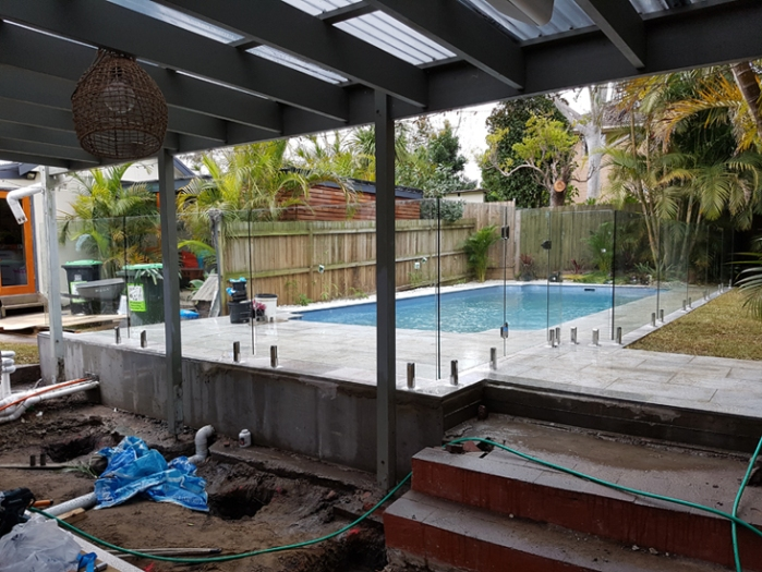 Glass Pool Fencing Northern Beaches Manly